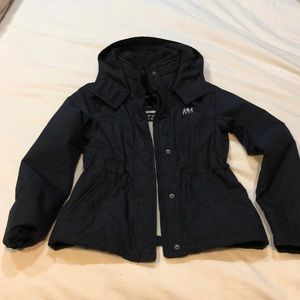 Kids size Large winter coat. Navy